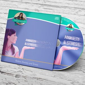 Hayley Kiemel Relieve Anxiety card sleeve